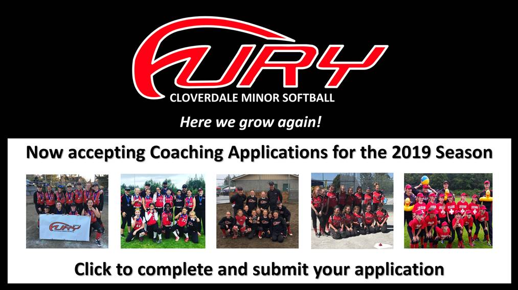 Fury Coaching application for 2019 season